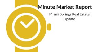 Miami Springs Real Estate  Market Report October 24, 2016